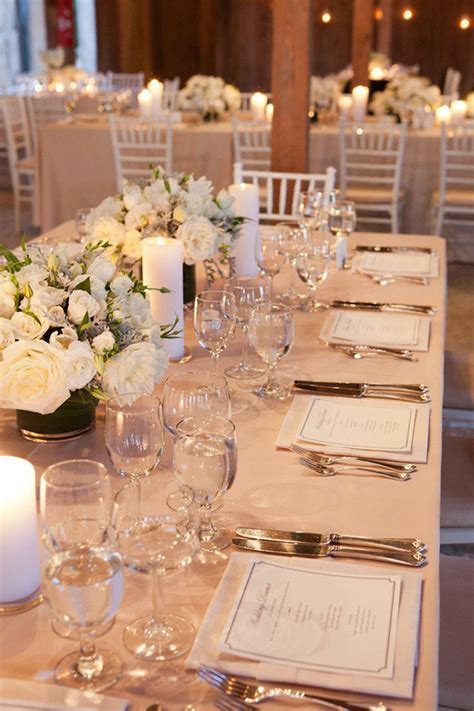 Wedding Reception Table Settings 15 Sophisticated Wedding Reception Ideas Oh Best Day