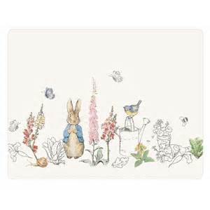 Garden Tools Clip Art - beatrix potter peter rabbit classic placemats set of 6 from national trust