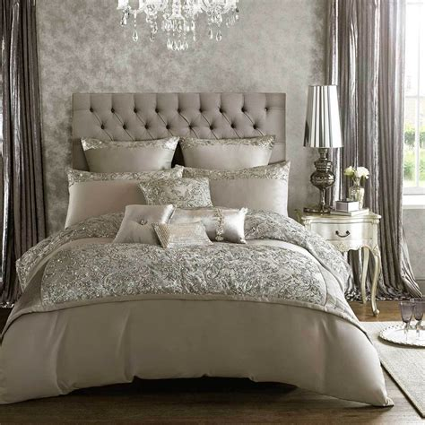 Bedding The Range Minogue Soft Silver Bed Linen Bedding Range Duvet Cover Cushions Ebay