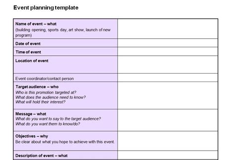 event planning template checklist event planning checklist template now featured on website