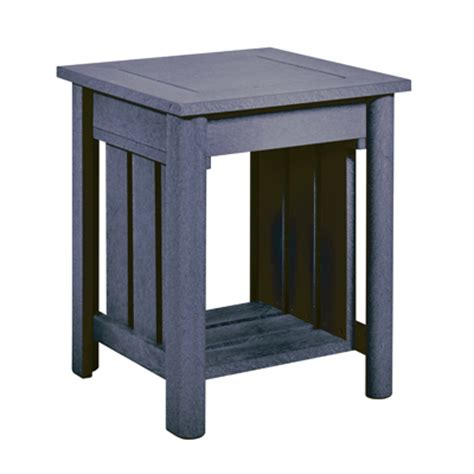 Plastic End Table recycled plastic end table