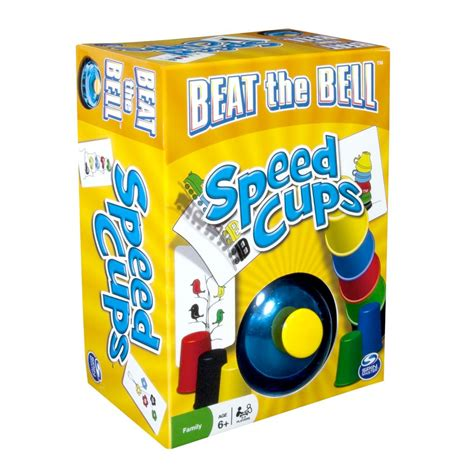 Speed Cups by Spin Master Spin Master Beat The Bell Speed Cups