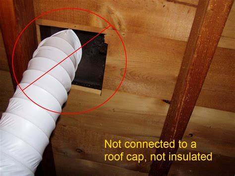 bathroom vent fan duct installation causes of ceiling stains homesmsp