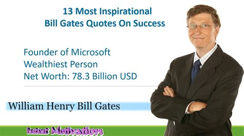 bill gates biography quotes 13 life changing best inspirational quotes by bill gates