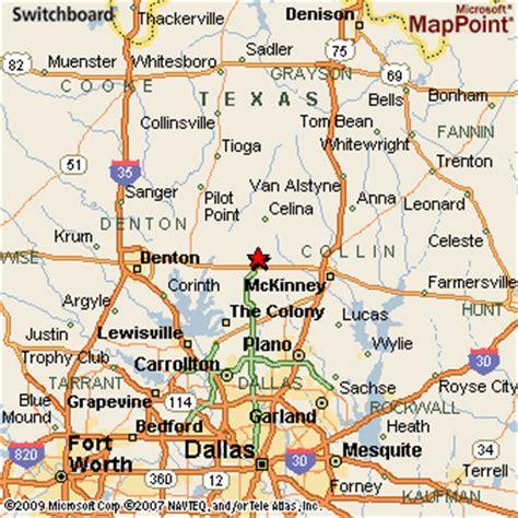 prosper texas map prosper texas