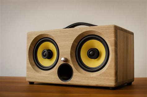 Speaker Bluetooth Subwoofer best bluetooth speaker available thodio ibox xc in fumed