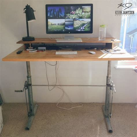 diy adjustable standing desk converter 38 best diy standing desk images on pinterest music