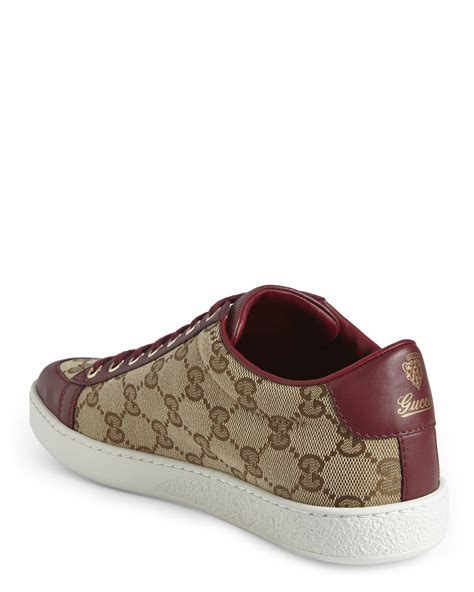 10 Top Gucci Shoes by Gucci Original Gg Low Top Sneakers In Lyst