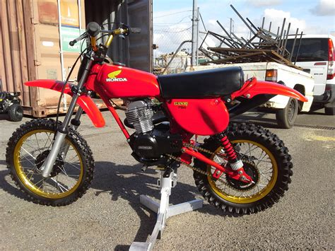 restored vintage motocross bikes for sale honda xr75 ka 1976 77 vintage fully restored