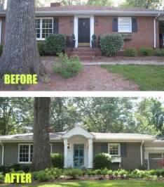 Split Level Landscaping Curb Appeal - curb appeal makeovers that can double your home s value