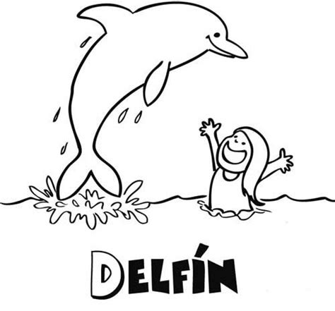dibujos para colorear d 237 a de la madre dibujo para colorear de delf 237 n dibujos de animales
