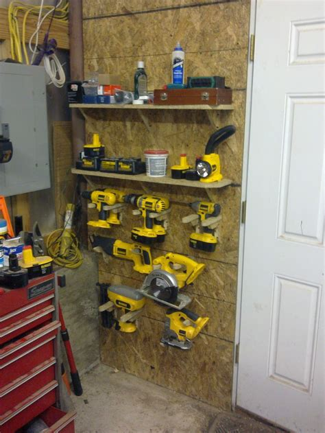 Power For Garage by Best 20 Power Tool Storage Ideas On
