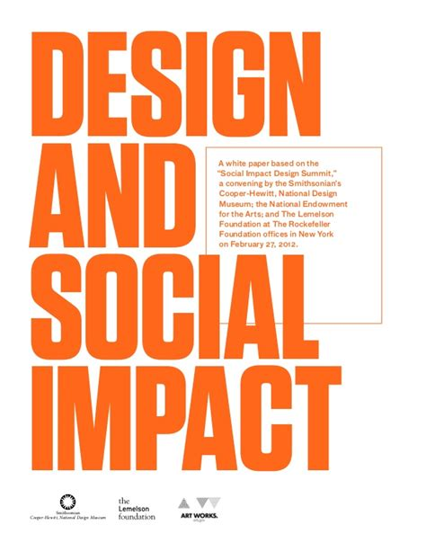 graphic design effect on society design and social impact
