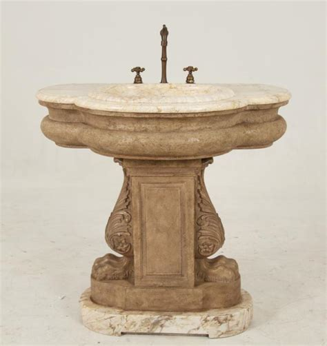 marble pedestal sink decorative faux and marble pedestal sink
