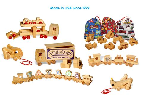Handcrafted Wood Toys - handcrafted usa made wooden toys i doodletown toys