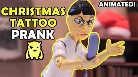 tattoo prank prank 1 stop motion animation