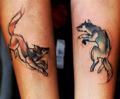 best couple matching tattoos 40 forever matching ideas for best friends
