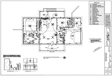 electrical plans for a house km house plans