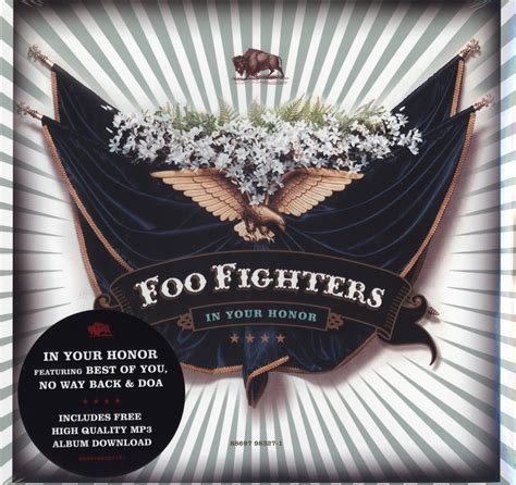Foo Fighter In Your Honor foo fighters in your honor incl best of you no way doa 2x12 vinyl lp new ebay