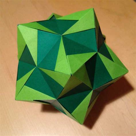 origami aldo marcell folded by dean prichard
