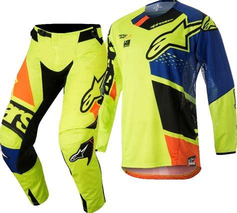 alpinestars motocross gear 2018 alpinestars techstar factory yellow blue black