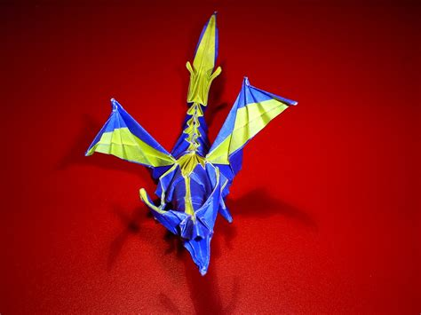 Fiery Origami - fiery origami by lonely white wolf on deviantart