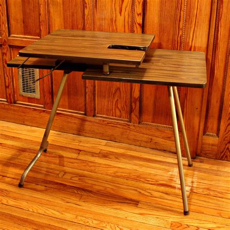 Vintage Sewing Table by Vintage Sewing Table Sewing Machine Table Wood Folding