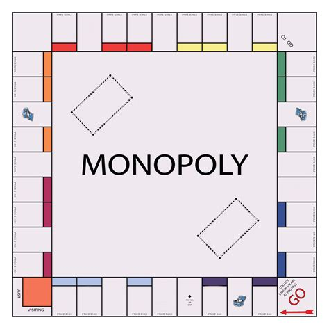 big monopoly cards template if you were to make a monopoly board monopoly