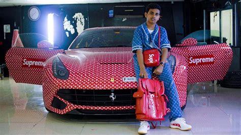 Rich Chigga by A Rich Kid In Dubai Shows Love For Louis Vuitton X Supreme