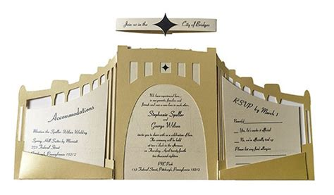 Wedding Invitations Pittsburgh by Unique Wedding Invitations From Local Artists Wedding