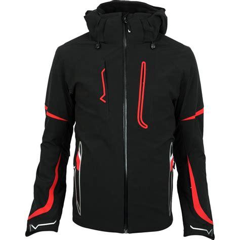 Mens Insulated Ski Jacket volkl black 700 insulated ski jacket s glenn