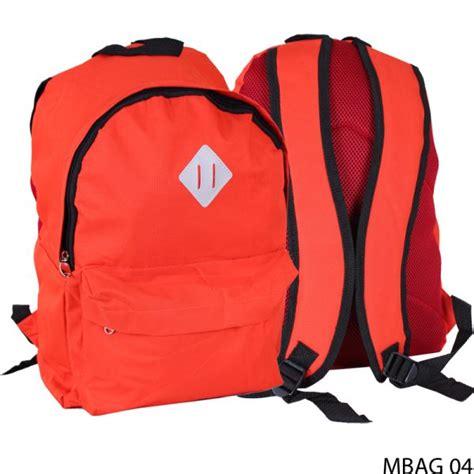 Free Ongkir Tas Ransel Kanvas tas ransel polos casual cantik kanvas orange mbag 04