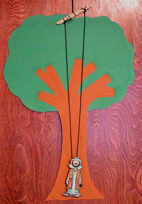 zacchaeus crafts for bible class creations zacchaeus climbs the tree