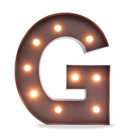 letra n vintage con bombillas iluminaci 243 n met 225 lica decorativa letra g iluminaci 243 n