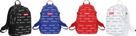 supreme backpack supreme 3m reflective repeat backpack w supreme box