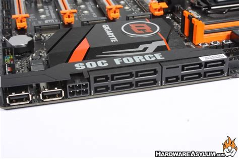 force layout features gigabyte z170x soc force overclocking motherboard review