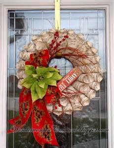 christmas wreath creative outlet pinterest