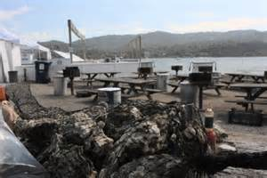 scow bay oyster farm tomales bay oyster run bbq