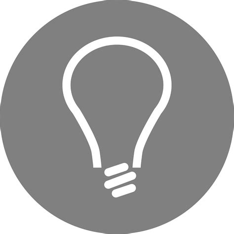 Idea Lamp Clipart Idea Icon