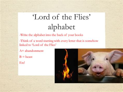 lord of the flies key themes and quotes lord of the flies scheme of work by andrewj056 uk
