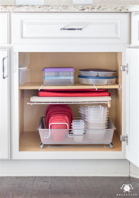 organization ideas for a kitchen cabinet overhaul kelley nan