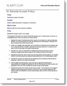 organizational policy template policy manual template free checklists and forms