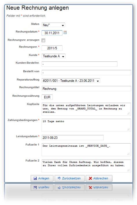 bis wann rechnung stellen fibu web anwender handbuch