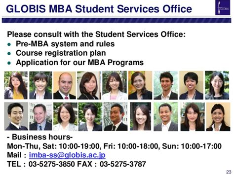 Globis Mba Rankings by Pre Mba Orientation Handout October 2014