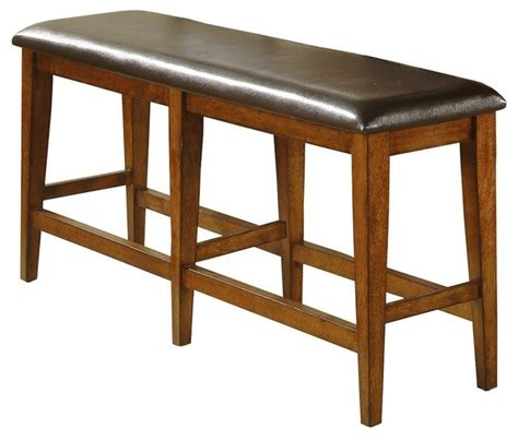 winners only fallbrook dfmt145524 counter winners only mango 60 in counter height dining bench