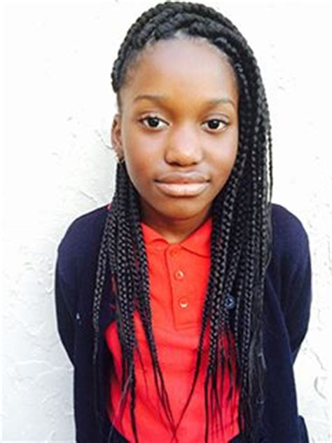 box braids for pre teens, great style for school aged