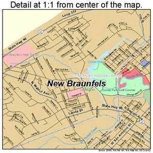 where is new braunfels map new braunfels map 4850820