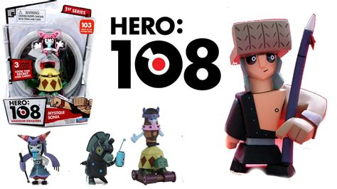 hero 108 toys opening toys hero 108 figures lin chung and his friends