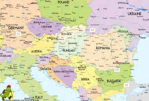 Map Of East Europe by