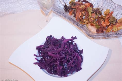 cavolo cucinare cavolo rosso strascicato ricette di cucina